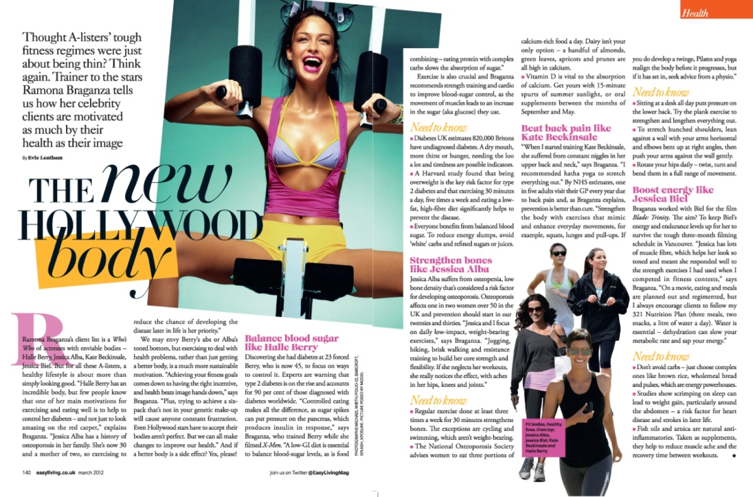 Easy Living Health: The New Hollywood Body
