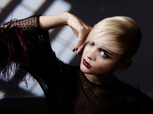 Stylist: Dark Night Rising shoot with Karim Rahman for L'Oreal Paris