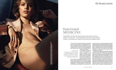 Porter Magazine Functional Medicine by Evie Leatham