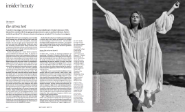 Porter Magazine The Stress Test Report by Evie Leatham